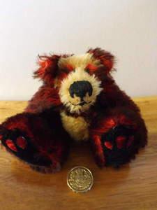 Ganz New Paprika Plush Love Heart Teddy Bear By Lorraine Chein