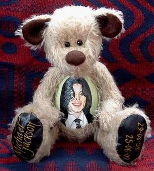 A Michael Jackson Tribute Bear