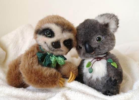 Sonechka baby sloth By Alina Biliakova - Bear Pile