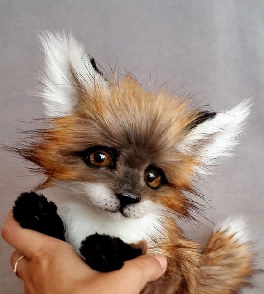 little fox by vakulina