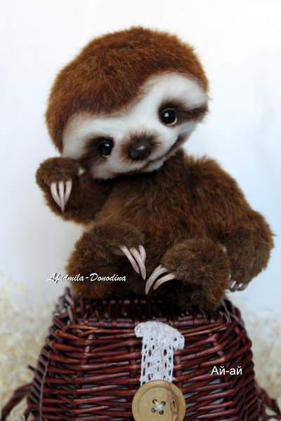 Baby Sloth By Ljudmila Donodina Bear Pile