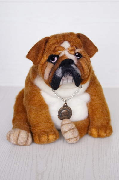 Toy english bulldog